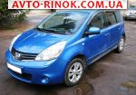 2011 Nissan Note 1.6 AT (110 л.с.)