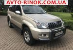 2006 Toyota Land Cruiser Prado 2.7 AT (160 л.с.)